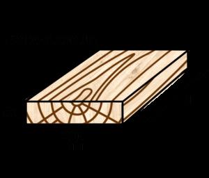 Обрезная доска 50х200 | Купить в Мариуполе