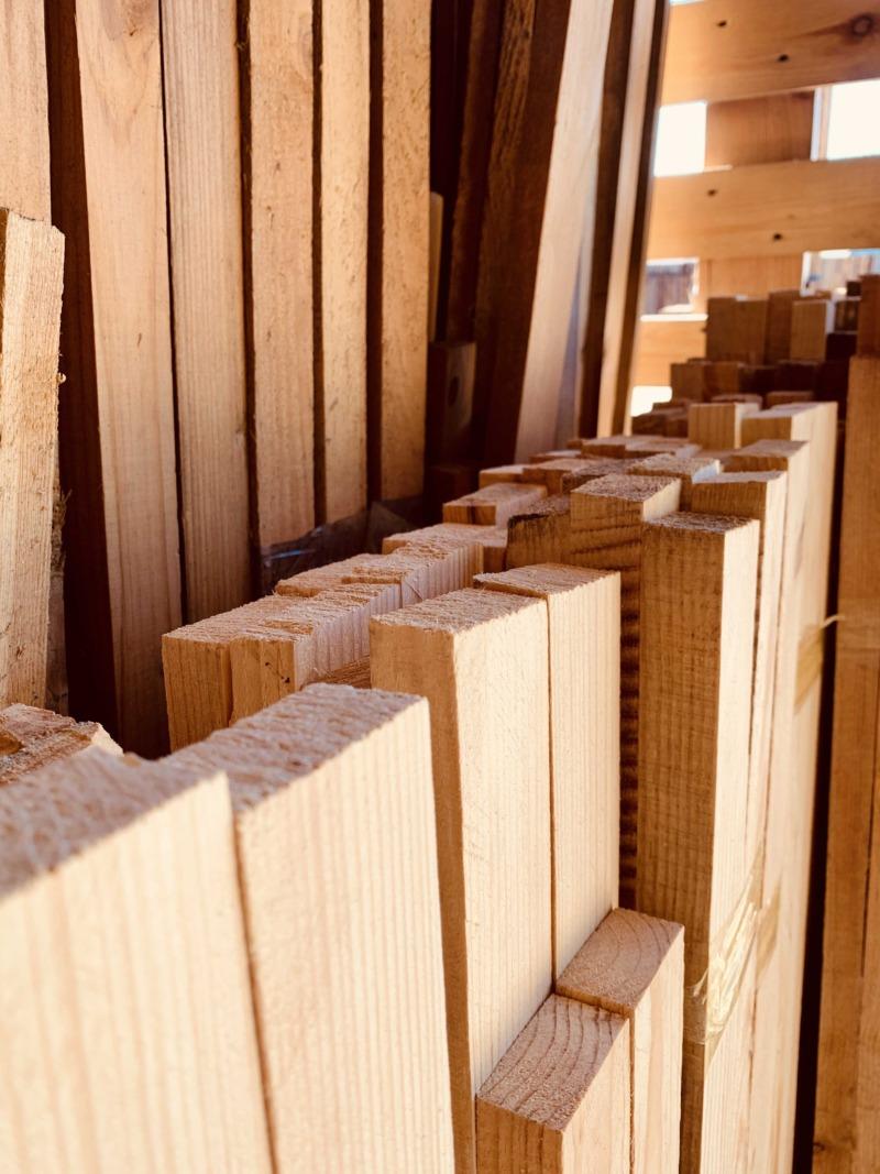 Рейка деревянная цельная 20х40